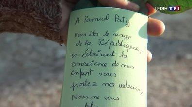 À Conflans-Sainte-Honorine, l'émotion reste forte près d'une semaine après le meurtre de Samuel Paty