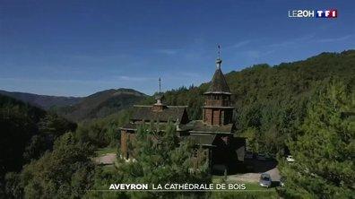 À la découverte de la cathédrale de bois de Sylvanès au cœur de l'Aveyron