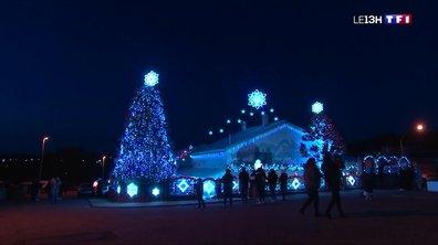 À la découverte de la maison illuminée aux couleurs de Noël à Carling