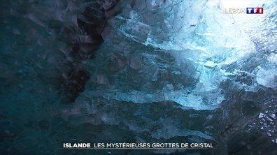 À la découverte des mystérieuses grottes de cristal en Islande