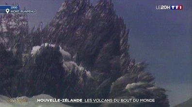 À la découverte des volcans de Nouvelle-Zélande