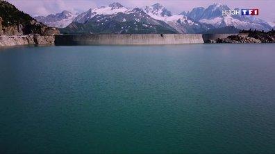 A la découverte du barrage d'Emosson