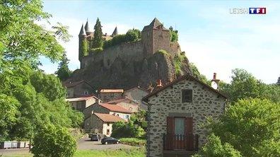 À la découverte du château du Sailhant dans le Cantal