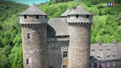 À la découverte du château médiéval d'Anjony au Cantal
