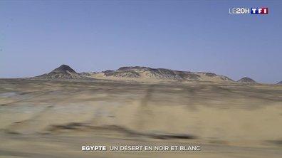 À la découverte du désert égyptien, un paradis en noir et blanc