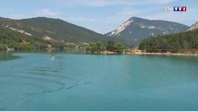 À la découverte du lac de Castillon