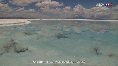 À la découverte du plus grand désert de sel en Argentine