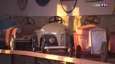 À la rencontre de Christophe Fouan, un collectionneur de voitures à pédales