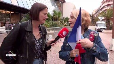 À Nice, Marine Le Pen fait son 1er mai
