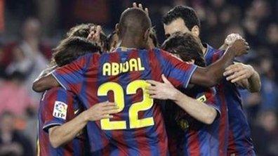 Le Barça peut fêter Abidal !