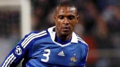 Equipe de France : Abidal absent de l'entraînement