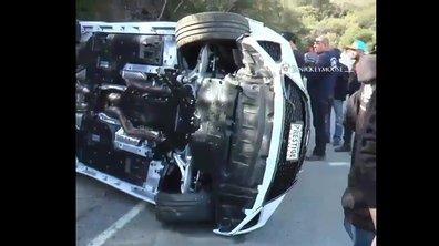 Vidéo Insolite : un ado retourne la Lexus RC F neuve de son père