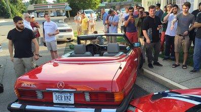 Une Mercedes SL percute une Ferrari 458 Speciale