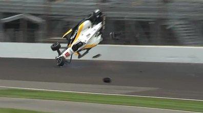 Vidéo : Accident spectaculaire de Newgarden en Indycar à Indianapolis