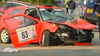 Rallye du Var : au moins 2 morts et 15 blessés dans l'accident