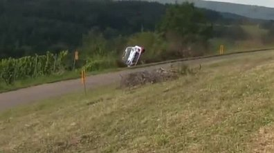 L'accident de Thierry Neuville au Rallye d'Allemagne 2014