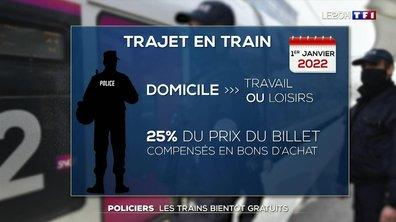 Accord entre le ministère de l'Intérieur et la SNCF : les trains bientôt gratuits pour les policiers