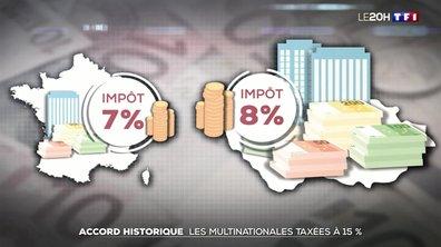 Accord historique : les multinationales taxées à 15%