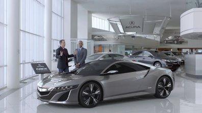 Publicité Superbowl 2012 : qui aura la 1ère Acura NSX ?