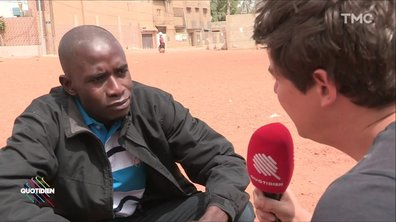 """Adama, migrant sénégalais : """"Traverser, ça ne vaut pas le coup"""""""