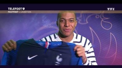 [Téléfoot 08/04/202018] Addition du Fast Foot : Gagnez le maillot des Bleus de Kylian Mbappé