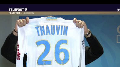 [Téléfoot 18/12/2016] Addition du Fast Foot : Gagnez le maillot dédicacé de Florian Thauvin
