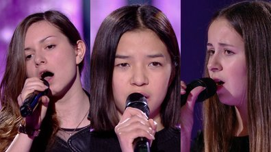 Aëlwenn VS Nayana VS Lola  chantent « Stay » de Rihanna (Team Jenifer)