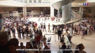 Afflux touristiques : le Louvre impose les réservations