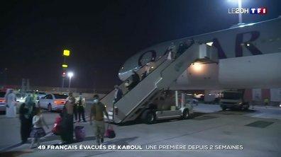 Afghanistan : 49 Français et leurs familles évacués à bord du vol Kaboul-Doha