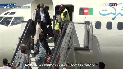 Afghanistan : les talibans veulent rouvrir l'aéroport de Kaboul