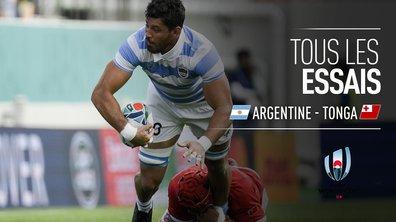 Argentine - Tonga : Voir tous les essais du match en vidéo