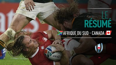 Afrique du Sud - Canada : Voir le résumé du match en vidéo