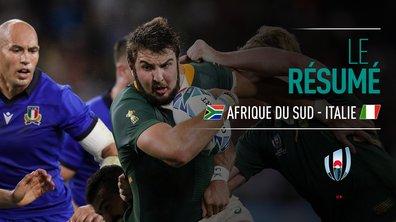Afrique du Sud - Italie : Voir le résumé du match en vidéo