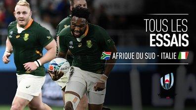 Afrique du Sud - Italie : Voir tous les essais du match en vidéo