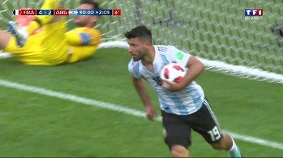 VIDÉO - France-Argentine : le but d'Agüero en toute fin de match