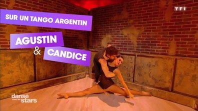 Sur un Tango argentin, Agustin Galiana et Candice Pascal (Seven Nation)