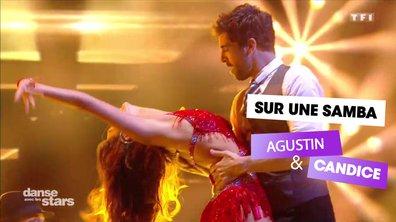 Sur une Samba, Agustin Galiana et Candice Pascal (Despacito)