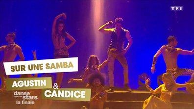 Sur une Samba,  Agustin Galiana et Candice Pascal (Mi gente)