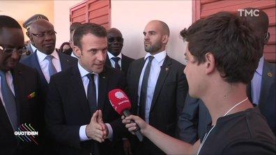 Aider le Sénégal est-il du néo-colonialisme ? La réponse d'Emmanuel Macron