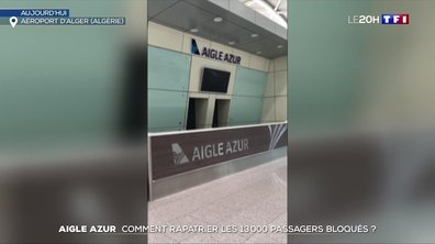 Aigle Azur : comment rapatrier les treize mille passagers bloqués ?
