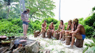 Koh Lanta épisode 5 : Victoire de l'équipe Jaune au jeu de confort
