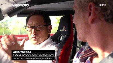 EXCLUSIF : Drift avec Akio Toyoda, PDG de Toyota