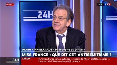 """Alain Finkielkraut : """"La haine des Juifs s'inscrit dans un tout autre contexte, une toute autre réalité, qui est de plus en plus inquiétante"""""""