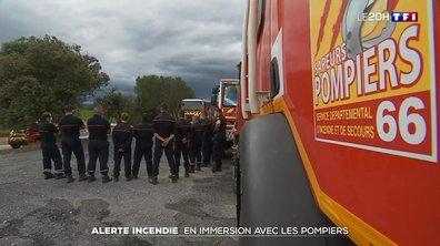 Alerte incendie dans l'Aude : en immersion avec les pompiers