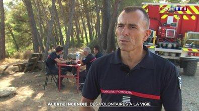 Alerte incendie : des volontaires à la vigie