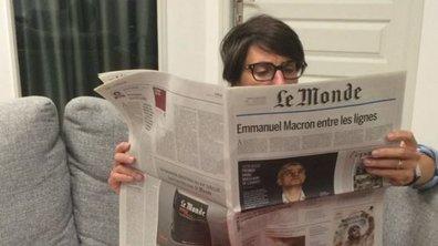 Alessandra Sublet prête pour le Grand Concours des Animateurs !