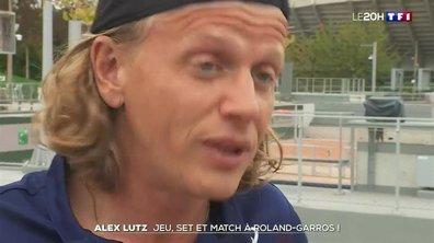 Alex Lutz : jeu, set et match à Roland-Garros