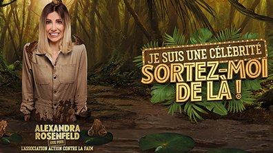 """Alexandra Rosenfeld joue pour l'association """"Action contre la faim"""""""