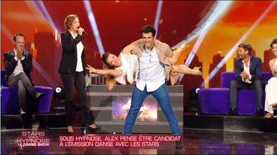 Alex Goude hypnotisé, croit participer à Danse avec les stars