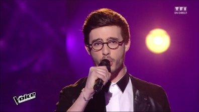 Alexandre interprète en direct « Être à la hauteur » (Emmanuel Moire) (Saison 05)
